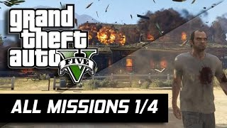 GTA V - All Missions 100% Gold Medal [1/4] (HD 60FPS)