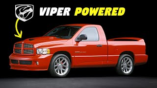 Dodge Ram SRT-10 - History, Major Flaws, & Why It Got Cancelled (2004-2006) - VIPER POWERED TRUCK