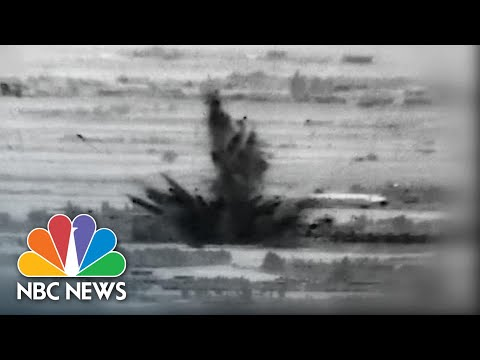 Israeli Airstrikes Target Iranian Forces Inside Syria | NBC News NOW