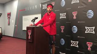 Texas Tech WR Antoine Wesley presser after Texas loss 11/10/18