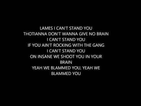 KING LIL JAY - CAN'T STAND YOU (LYRICS)