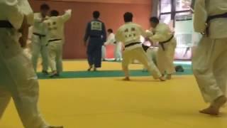 高田健太郎先生との乱取り画像。