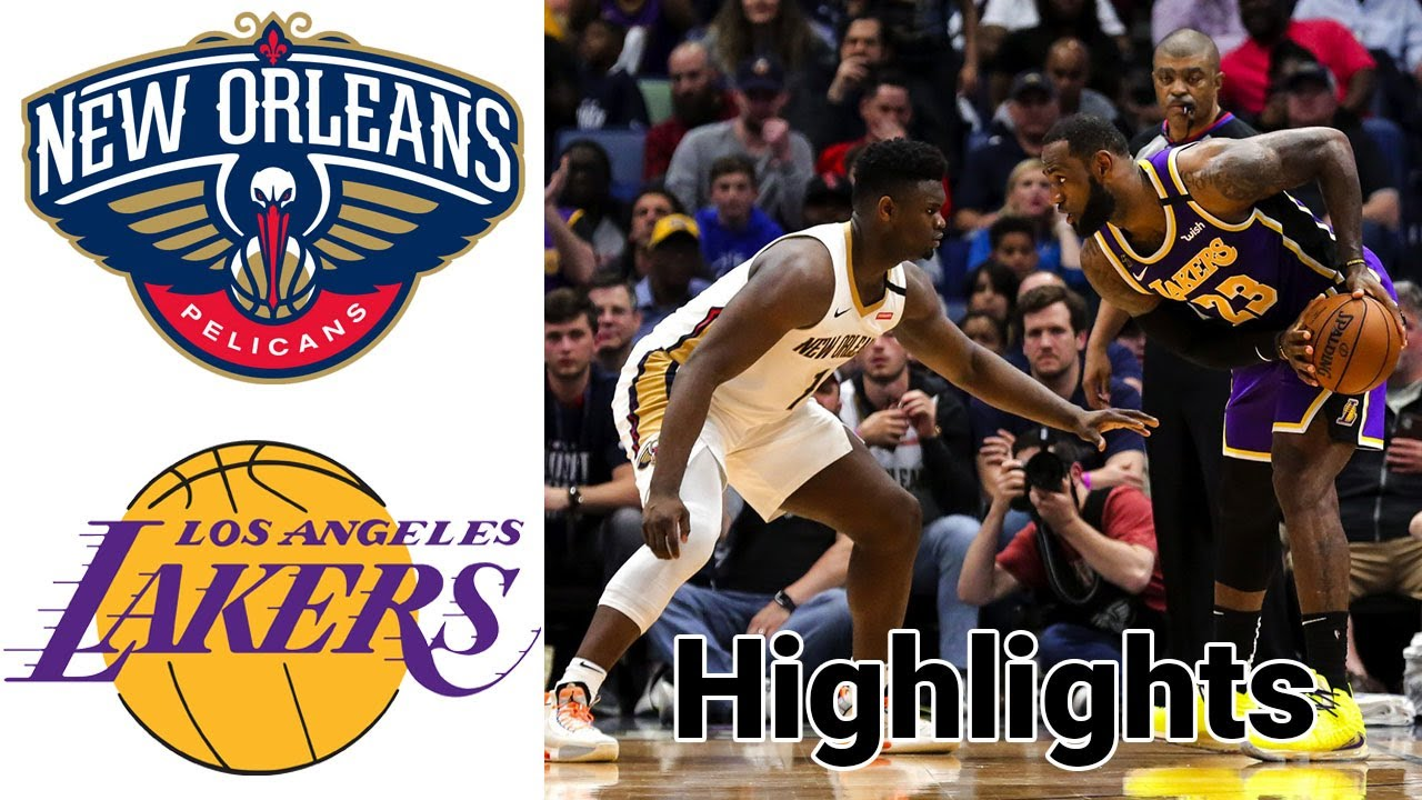 Pelicans vs Lakers HIGHLIGHTS Full Game | NBA January 15