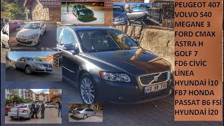 Şimdiye Kadar Kendime Ait Olan 12 Araba | Yaşadığım Sorunlar | Volvo-Peugeot-Renault-Ford-Opel-Vw