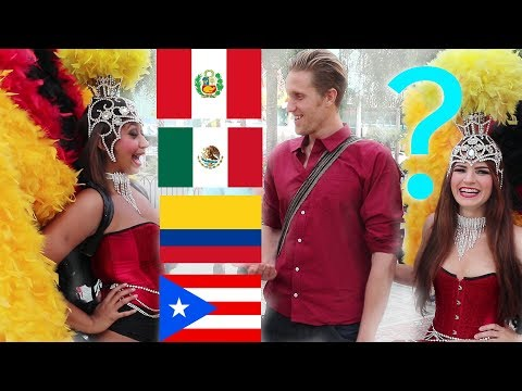 What do AMERICANS think about COLOMBIA, MEXICO, PERU & PUERTO RICO?