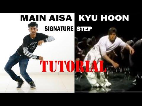Hrithik Roshan - Main Aisa Kyu Hoon || Signature Step Tutorial || Nishant Nair