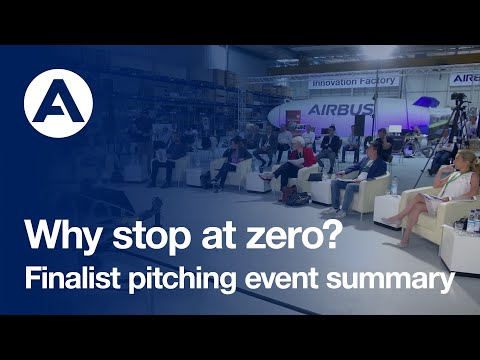 Why stop at zero? Finalist pitching event summary