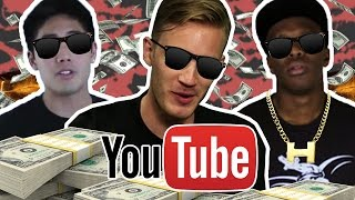 HOW Much Money Do YouTubers Earn 2016 (THE TRUTH) - Pewdiepie , KSI , Nigahiga