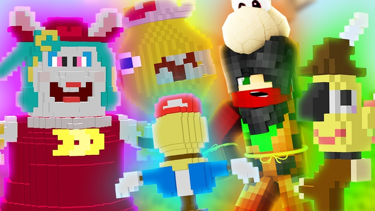 Minecraft Super Mario Odyssey Episode 3 Madame Broode Boss Fight