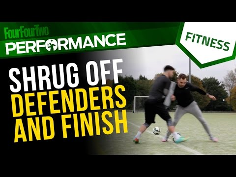 Pro level training   How to hold off defenders and score   Shooting drill