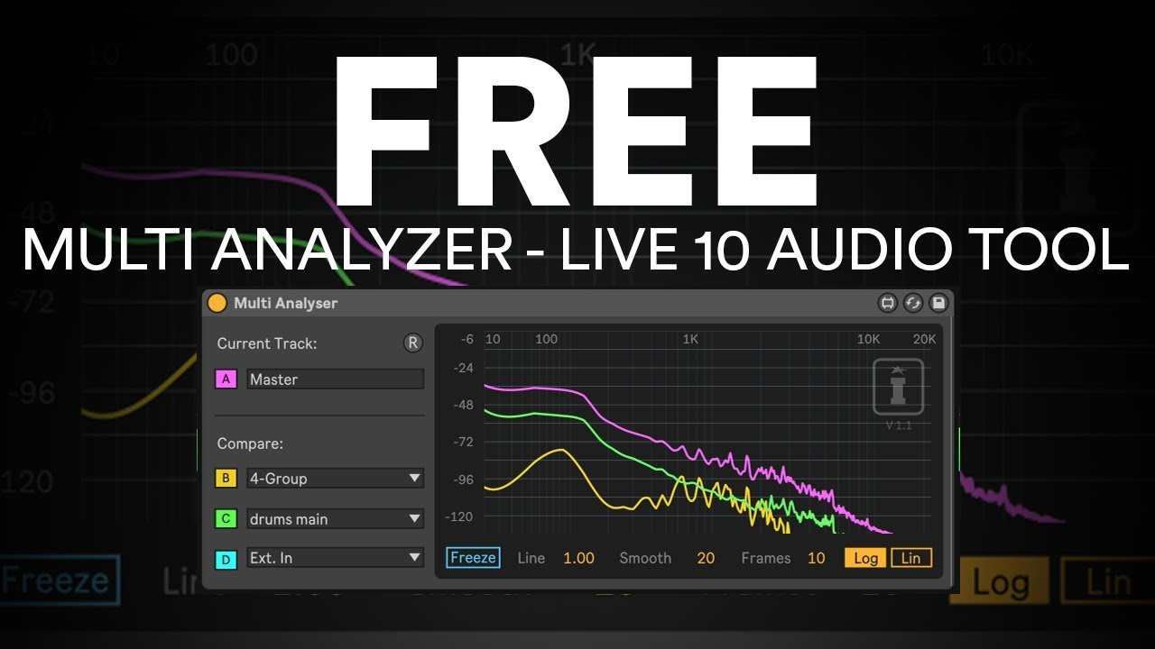 Free Max Device: Multi Spectrum Analyzer from Isotonik Studios