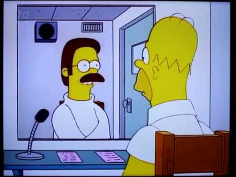 Ned Flanders getting therapy