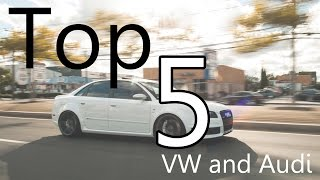 Top 5 Cool VW and Audi Models that Seem Affordable but are Not