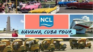 NCL Excursion: Tour of Havana, Cuba, by Bus l CRUISE VLOG l Ep. 12