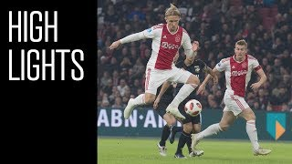 Highlights Ajax - Willem II