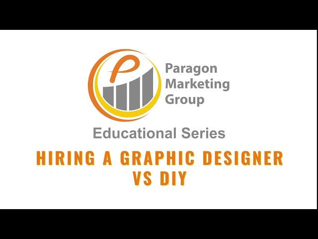 Hiring a Graphic Designer vs DIY