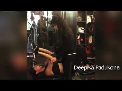 Bollywood Actress Hot Workout Videos || Deepika Padukone, Kriti Sanon, Alia Bhatt, Sunny Leone thumbnail