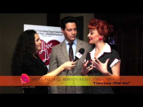 Sheyla Paz s cast of I Love Lucy ECN