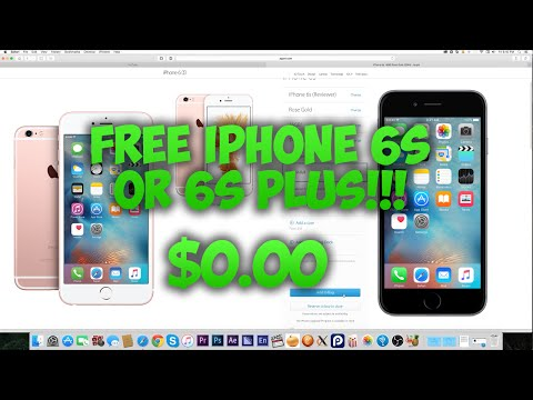 HOW TO GET A FREE IPHONE 6S/6S PLUS! FROM APPLE!