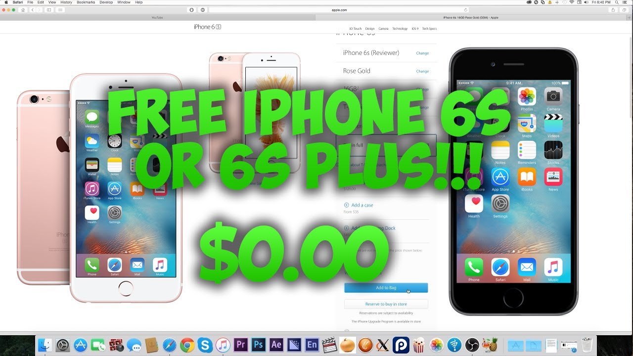 how to get a free iphone 6s how to get a free iphone 6s 6s plus from apple 20072
