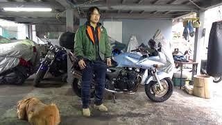 KAWASAKIのナナハンZR7S参考動画