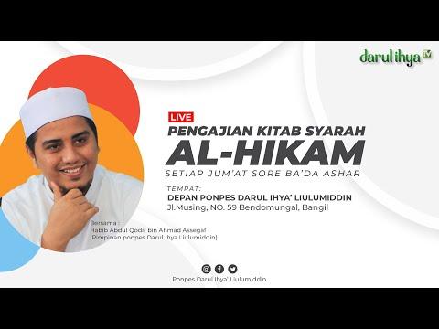 🔴[LIVE] Pengajian Umum Syarah Al Hikam - 24 Jumadil Awal 1442 H/08 Januari 2021 M