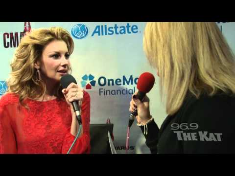 CMAs 2011 - Faith Hill Interview with 969 The Kat