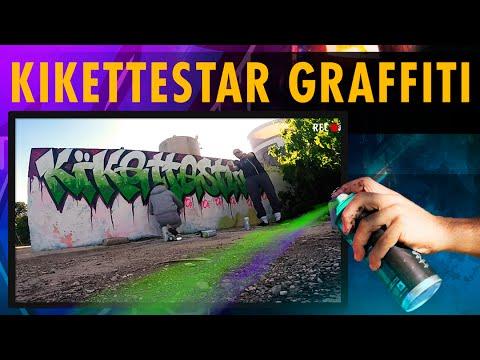 KIKETTESTAR GRAFFITI