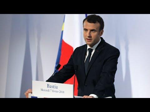 À Bastia, Emmanuel Macron dévoile sa stratégie pour la Corse