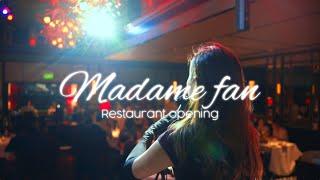 Madame Fan Restaurant opening