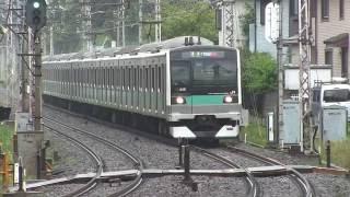 JR E233系 マト8編成 小田急線準急運用代走(綾瀬止の柏延長運転)