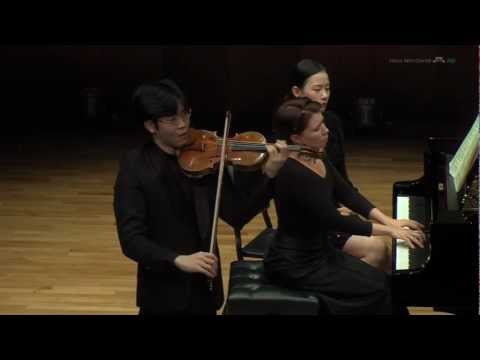 Paul Huang - Saint-Saens: Violin Sonata in D minor, Op. 75 (1 of 2)