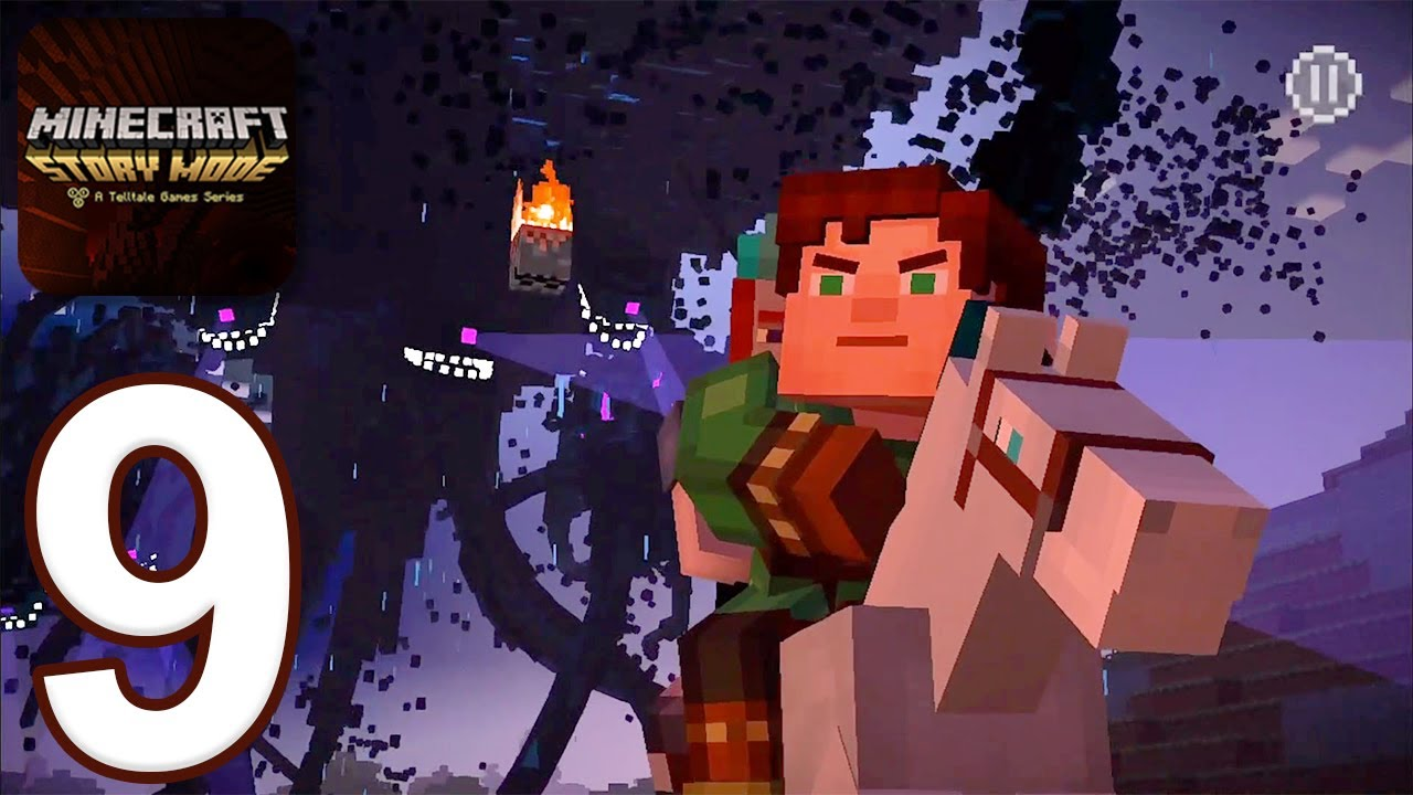 Download Minecraft: Story Mode - Gameplay Walkthrough Part 9 - Episode 4 (iOS, Android)