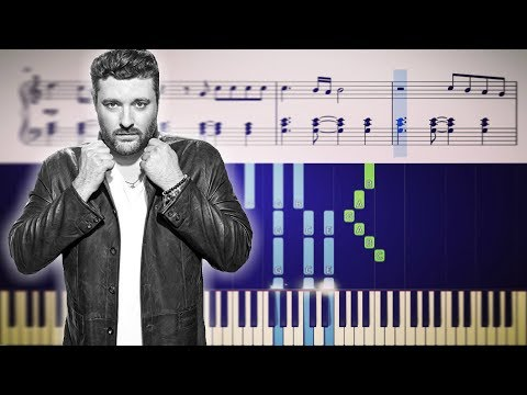WHERE I GO WHEN I DRINK (Chris Young) - Piano Tutorial + SHEETS