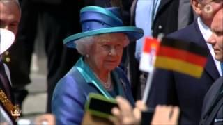 Queen Elizabeth in Frankfurt - Die Gedanken sind frei -Thoughts are free