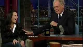 Ali Lohan on Late Show with David Letterman. YouTube Videos