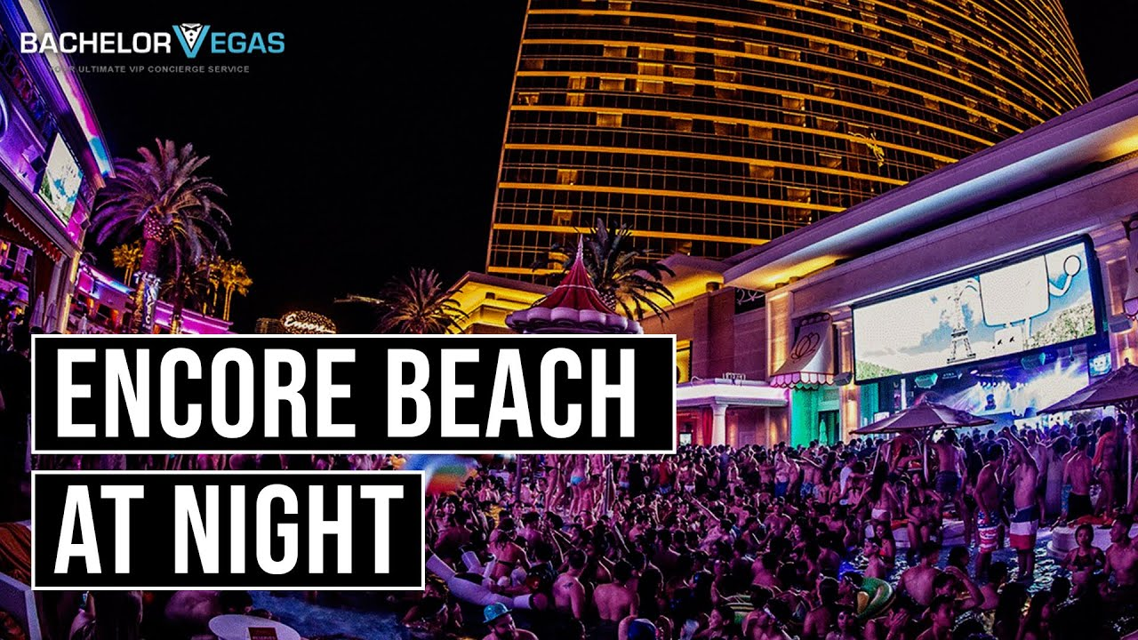 Download 🔫 Encore Beach Club at Night Las Vegas {Bottle Presentation}