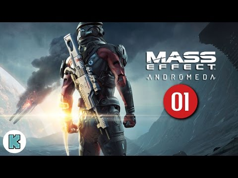 [FR] Mass Effect Andromeda Mini Let's play – 01 – Découverte du gameplay de Mass Effect Andromeda