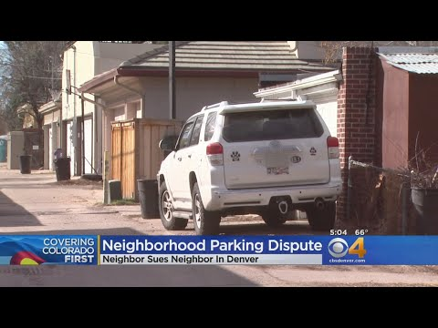 Feuding Neighbors Head To Court Over Alley Parking Spot