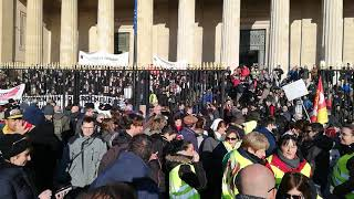 Grève du 5 décembre : à Bordeaux, un cortège bien garni