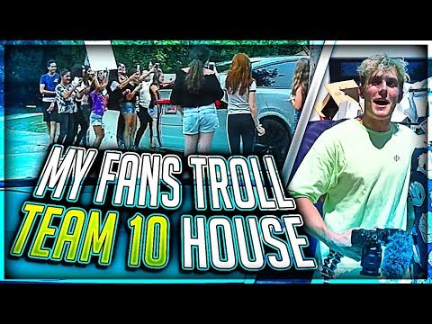 Thumbnail: Jake Paul Trolled By My Fans at Team 10 House
