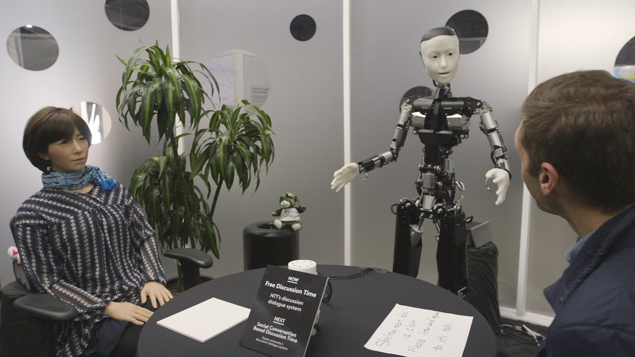 Talking with robots and cyber teleportation, just another