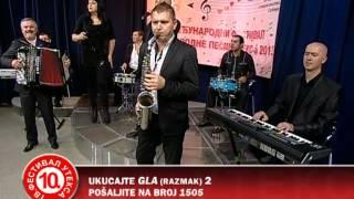 Mića Minić Šale / Jasmina Tomić - Sreli smo se kasno, polufinale X Uteks festivala 2013