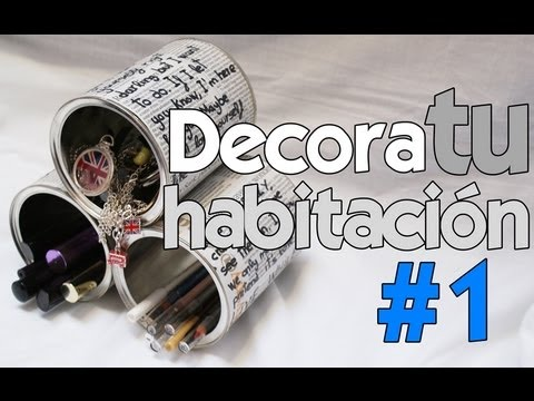 Diy decora tu habitaci n 1 youtube for Decora tu habitacion online