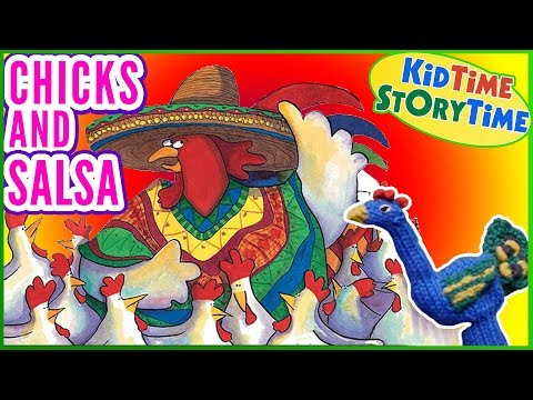 Chicks And Salsa | Funny Kids Books | Read Aloud!