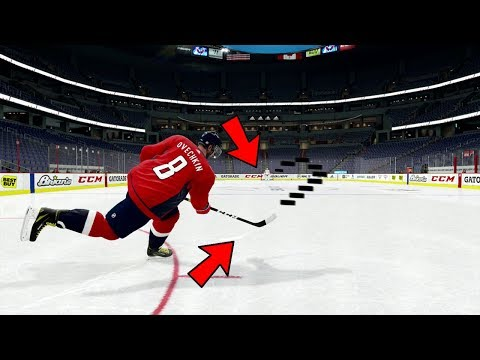 CAN YOU SCORE A FULL LENGTH GOAL IN NHL 19?!