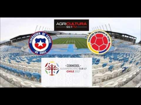 Chile 1 Colombia 1 - Fase De Grupos Sudamericano SUB 17 Chile 2017 - Radio Agricultura