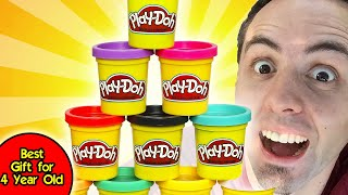 Best Gift For 4 Year Old | Playdoh & Playdoh Accessories Unboxing