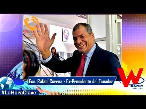 Eco. Rafael Correa Ex-Presidente del Ecuador
