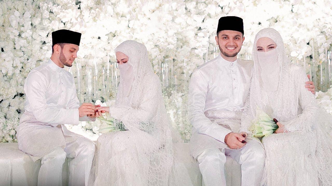 Sekitar majlis pernikahan Neelofa & PU Riz, indahnya taman bunga serba putih... - YouTube